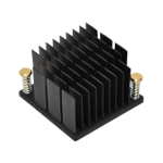 Heat sink with push pin