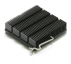Heatsink with Zclip